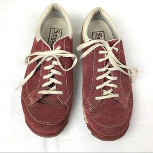 Simple Vintage Retro Lace-up Sneaker